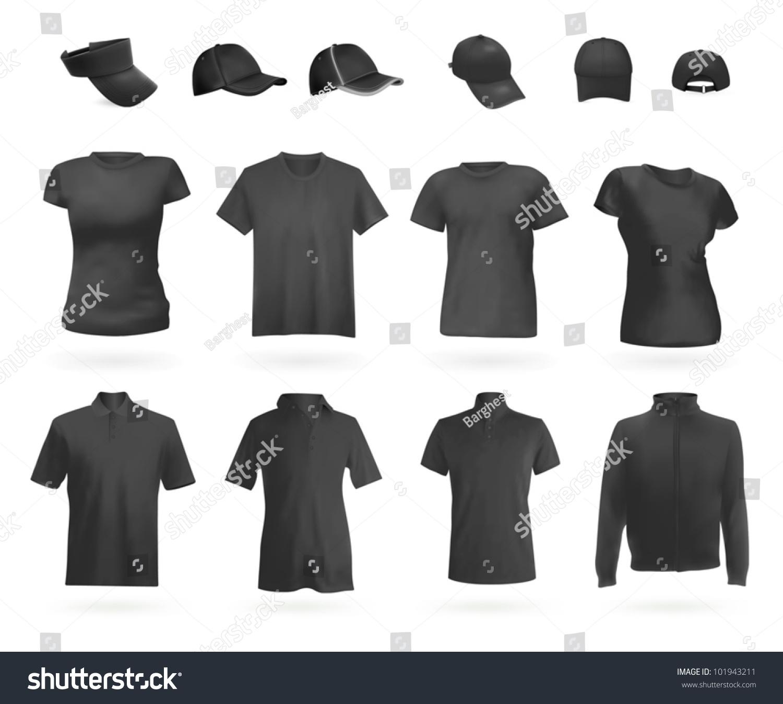 空白的制服:马球衫,t恤,连帽上衣和帽子.-运动/娱乐