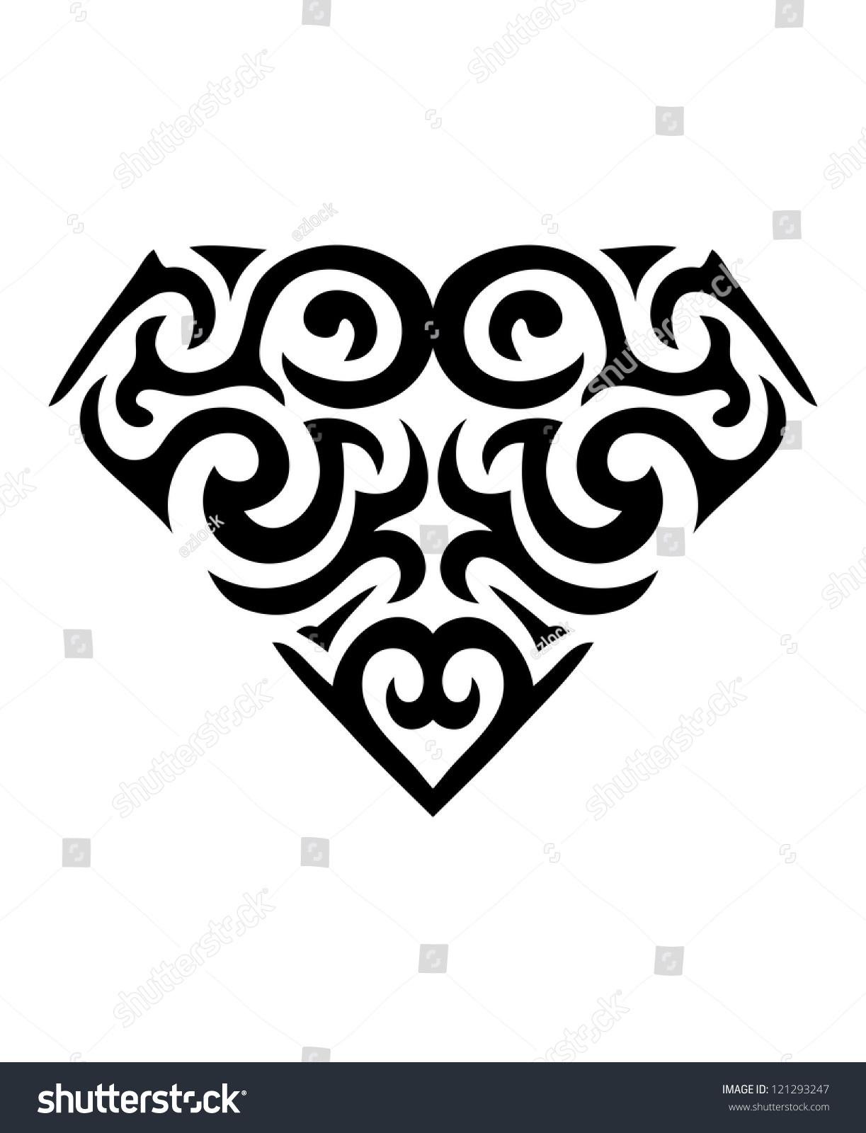 钻石象征纹身(向量)-符号/标志-海洛创意(hellorf)--.