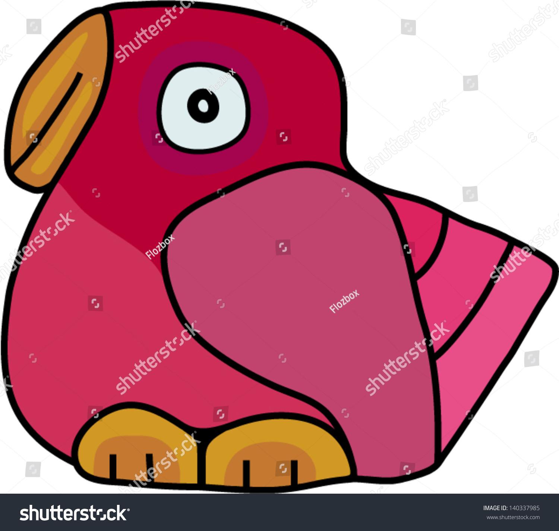 粉红色的鸟-动物/野生生物,自然-海洛创意(hellorf)-.