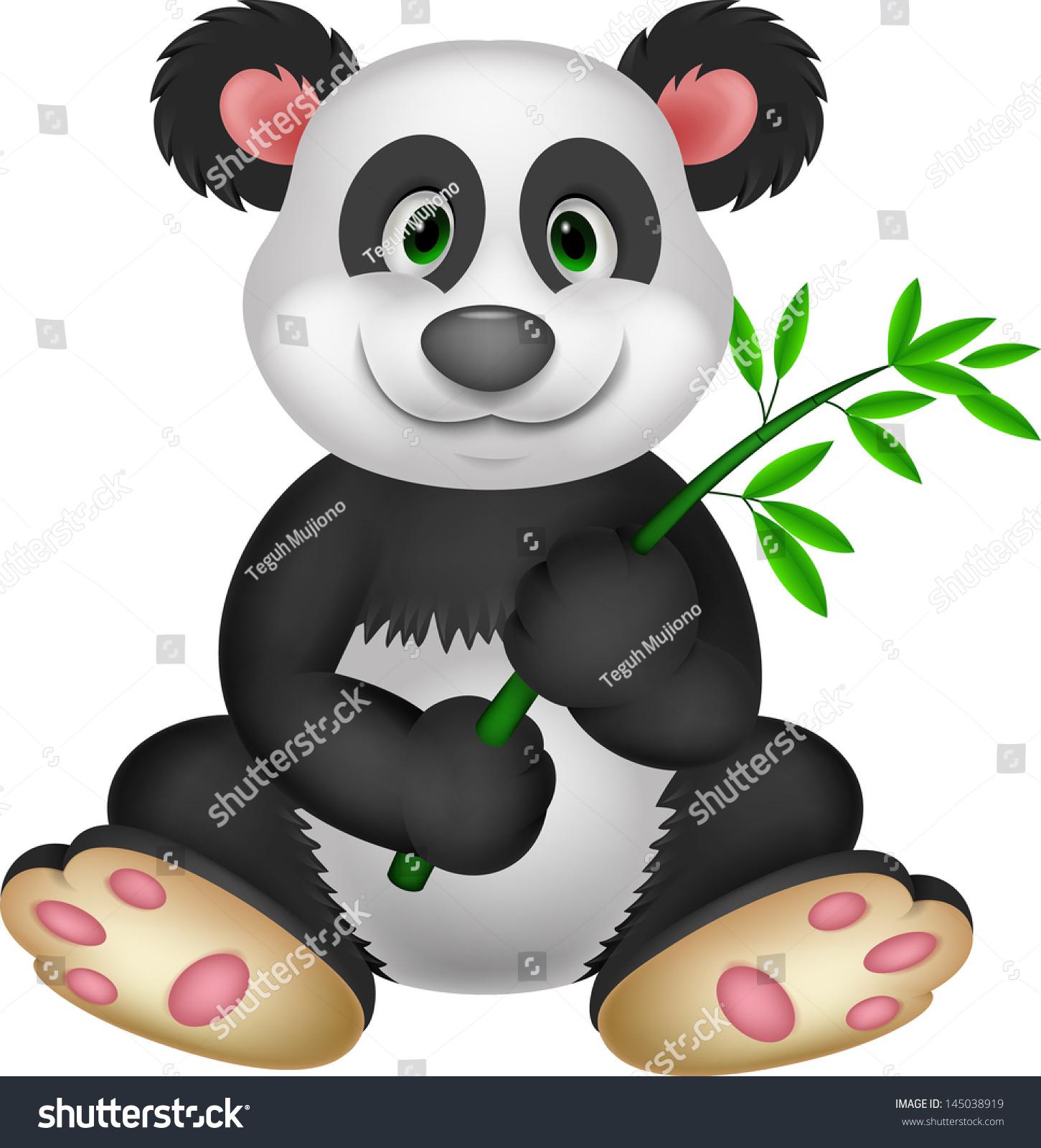 大熊猫吃竹子-动物/野生生物-海洛创意(hellorf)-中国