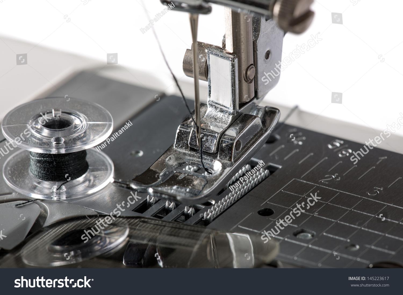 标准工业缝纫机穿线步骤图