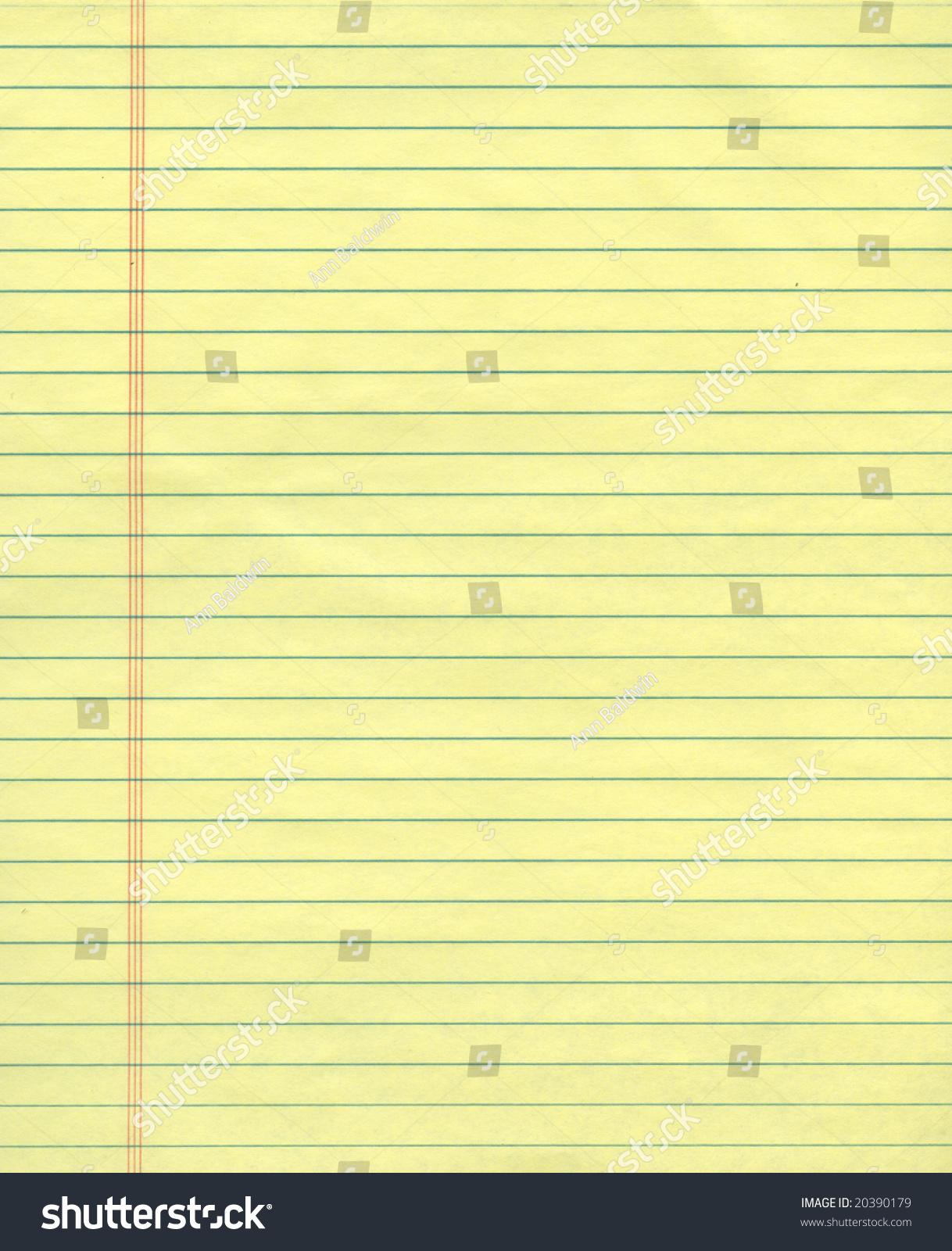 普通黄色的纸页纸-背景/素材,教育-海洛创意(hellorf)