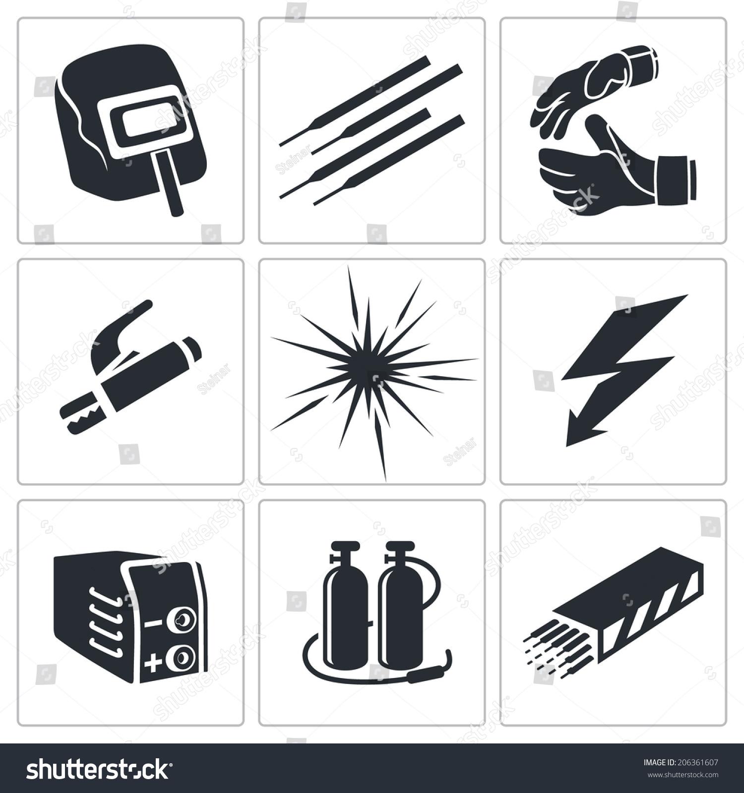 焊接图标集合-工业,符号/标志-海洛创意(hellorf)--.