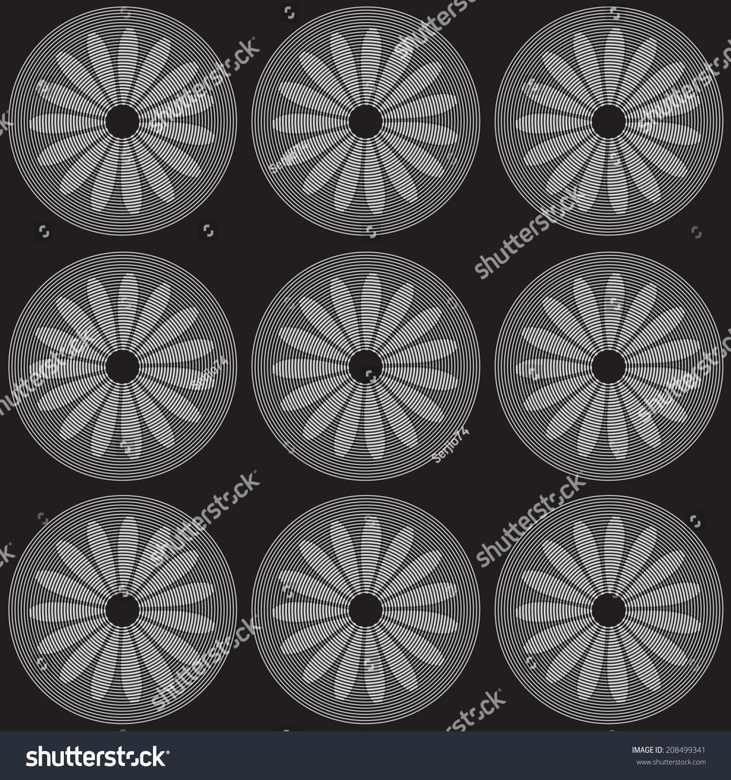 灰色黑色背景上的轮子.-背景/素材,抽象-海洛创意()-.
