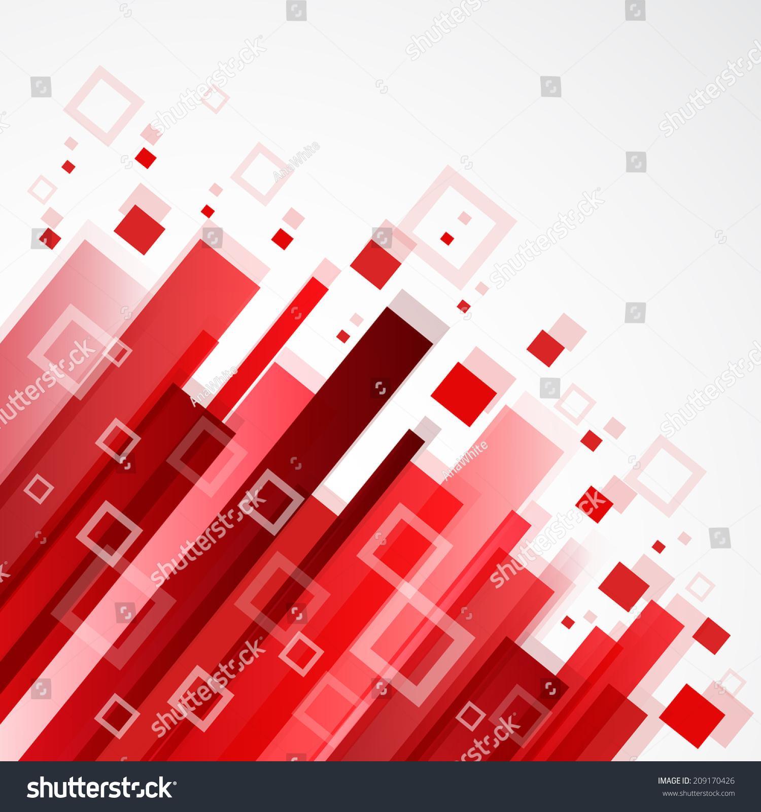 数字红色背景-背景/素材,抽象-海洛创意(hellorf)--.