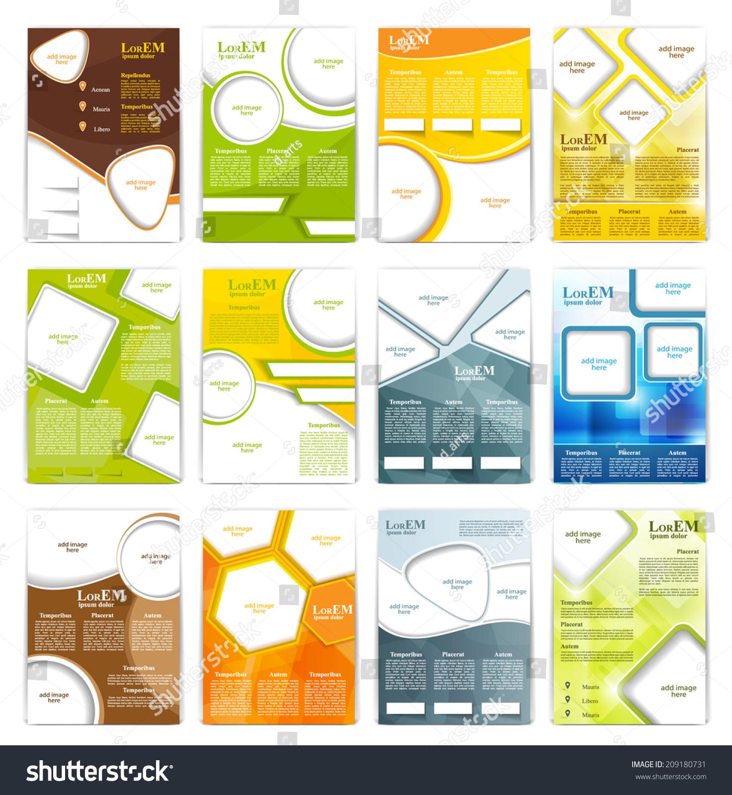 传单,小册子或杂志封面模板-背景/素材,商业/金融-()