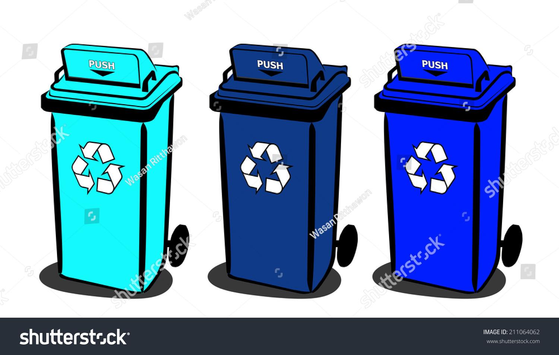 回收垃圾箱-物体,符号/标志-海洛创意(hellorf)-中国