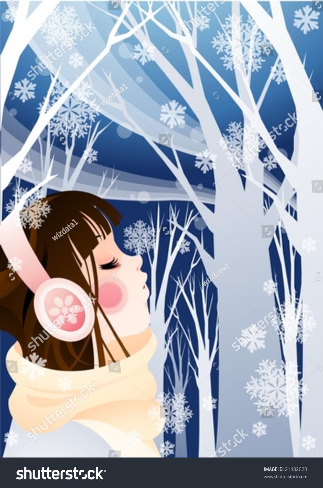 微信头像冬季风景类