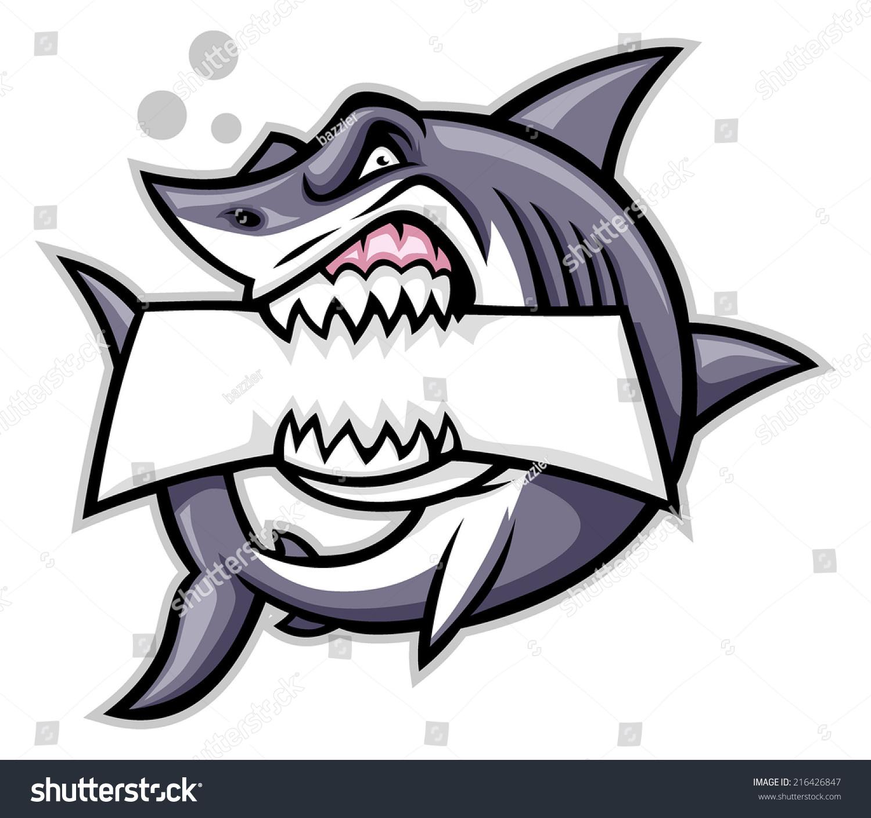 卡通鲨鱼微信头像