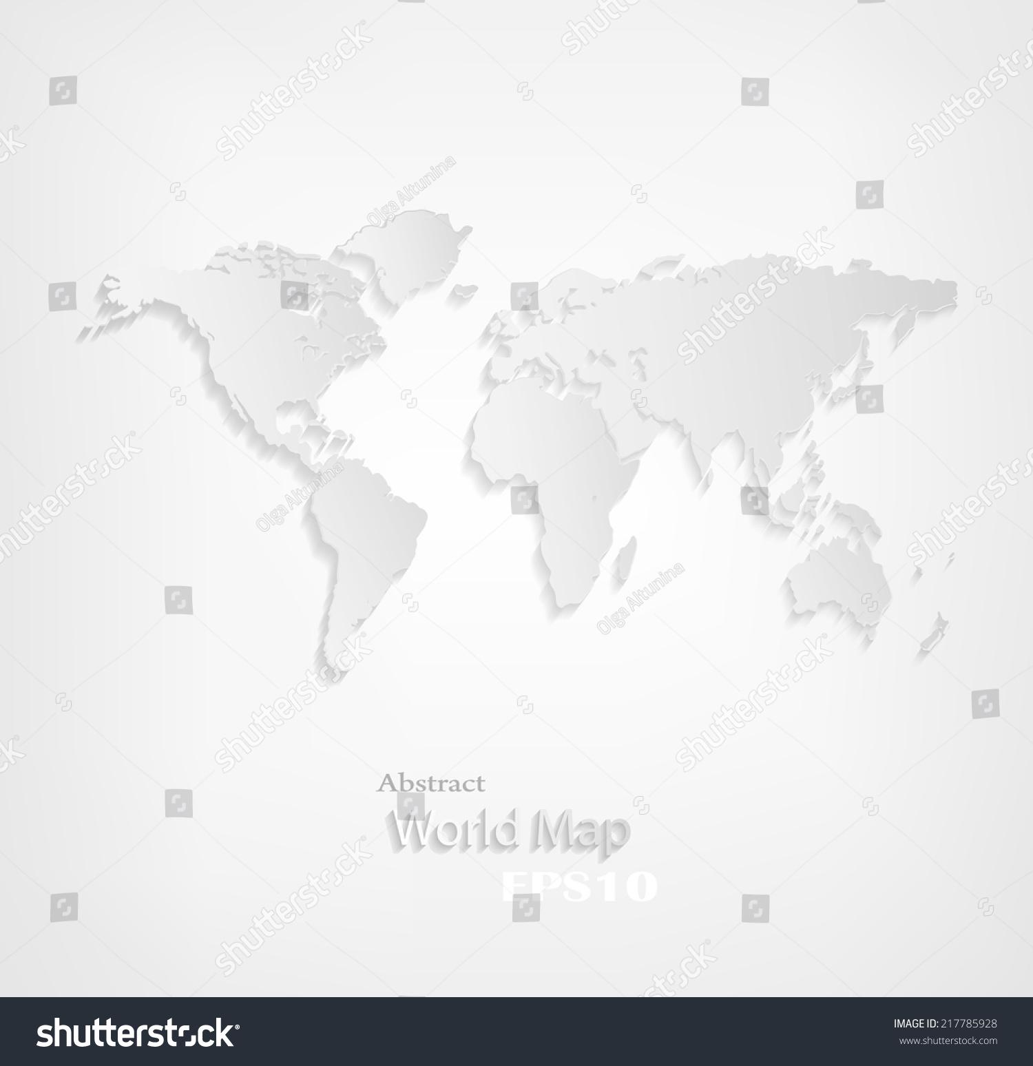 设计世界地图上一个灰色背景-背景/素材,抽象-海洛()