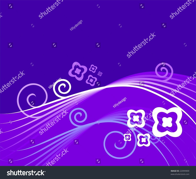 插图在蓝色背景白色的设计-背景/素材,插图/剪贴图-()