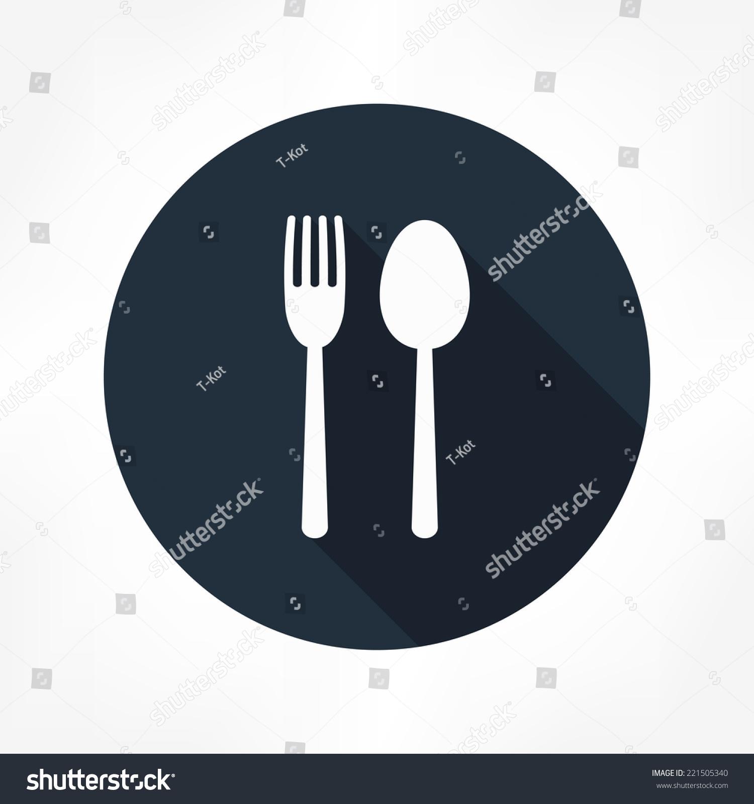 叉子和勺子图标-符号/标志-海洛创意(hellorf)-中国