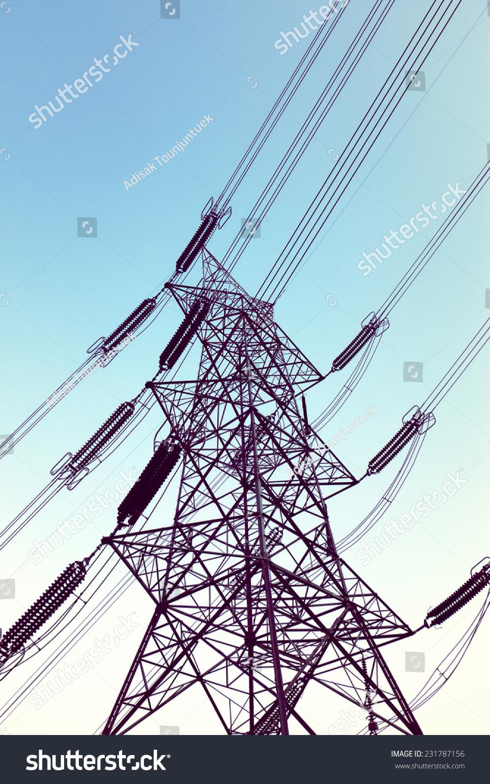 输电塔-建筑物/地标,工业-海洛创意(hellorf)-中国-.
