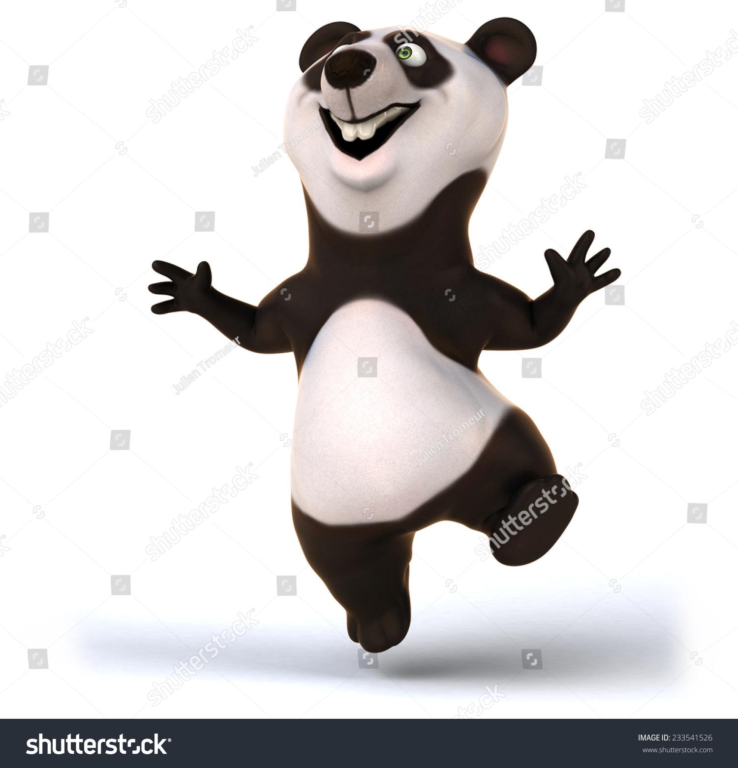 有趣的熊猫-动物/野生生物