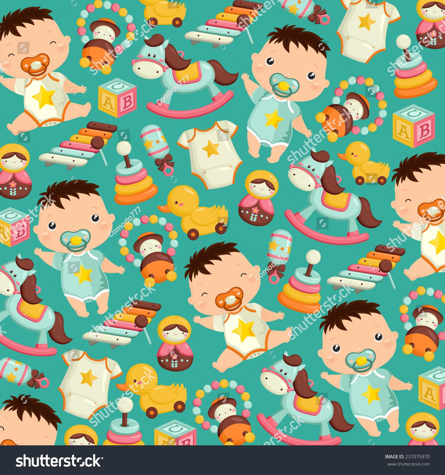 婴儿玩具背景-背景/素材,人物-海洛创意(hellorf)--.