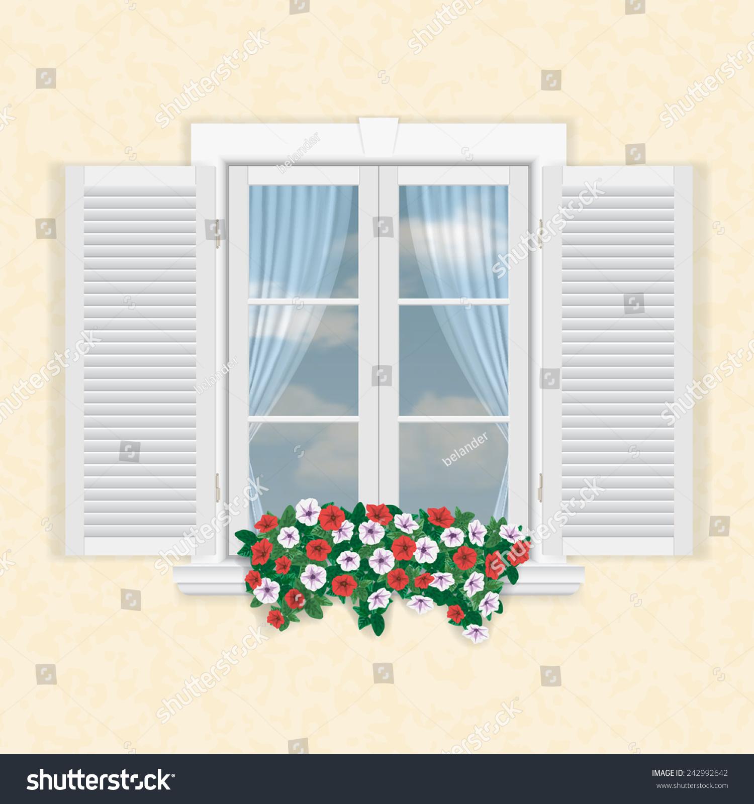 书窗户创意海报