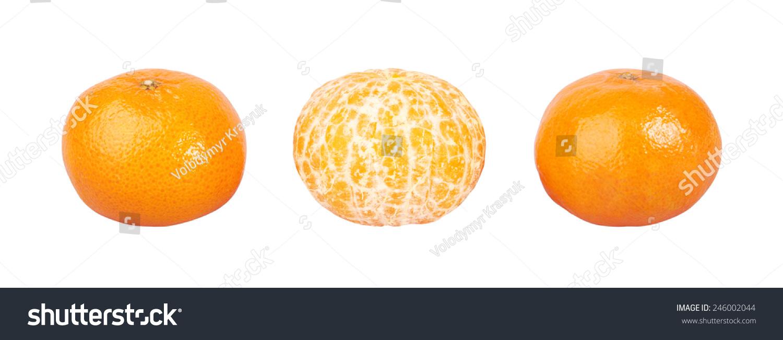 橘子手绘简易海报