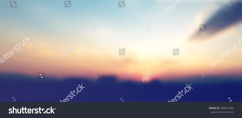 新古董全景日落的天空云轮廓景观自然背景,instagram