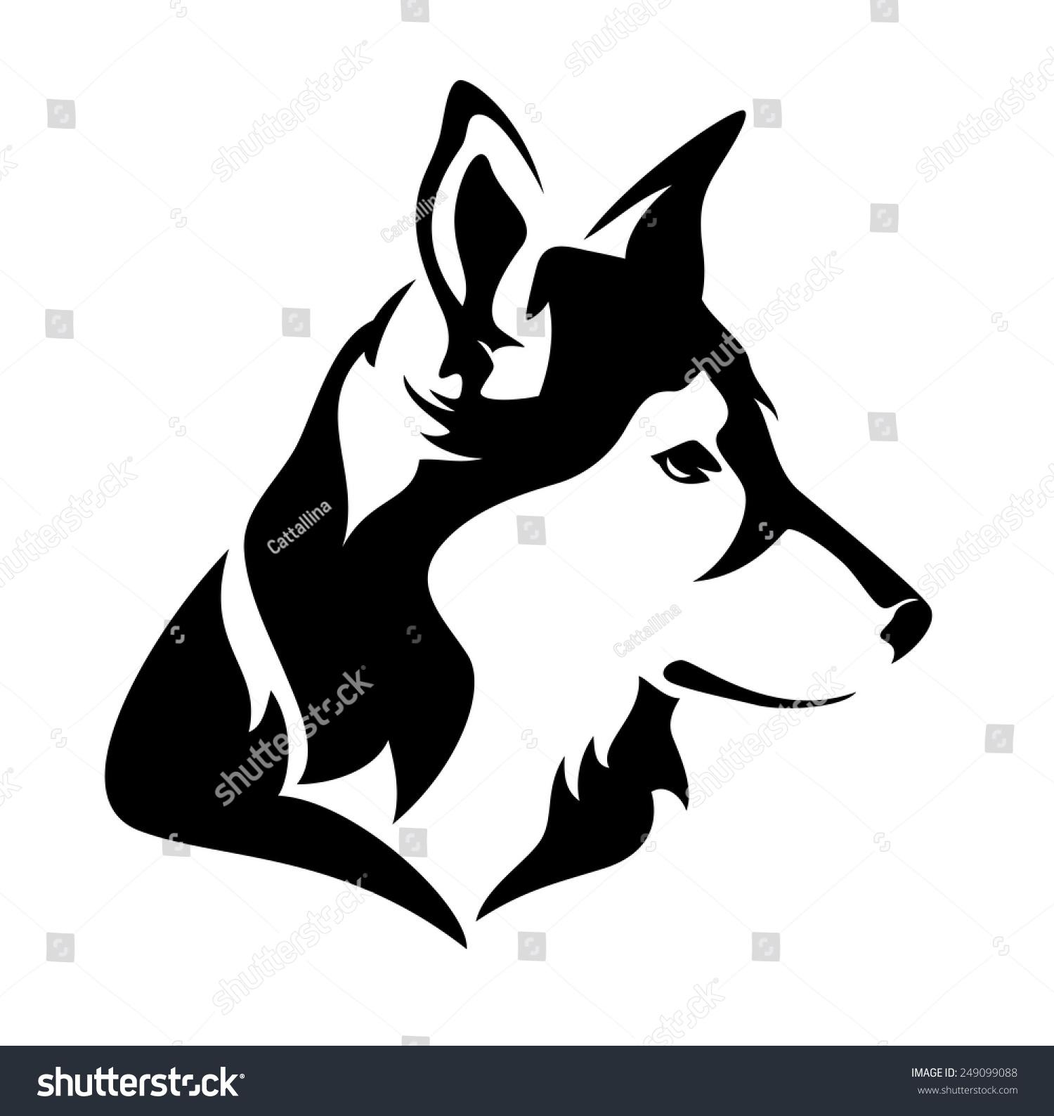 黑白向量的动物-动物/野生生物