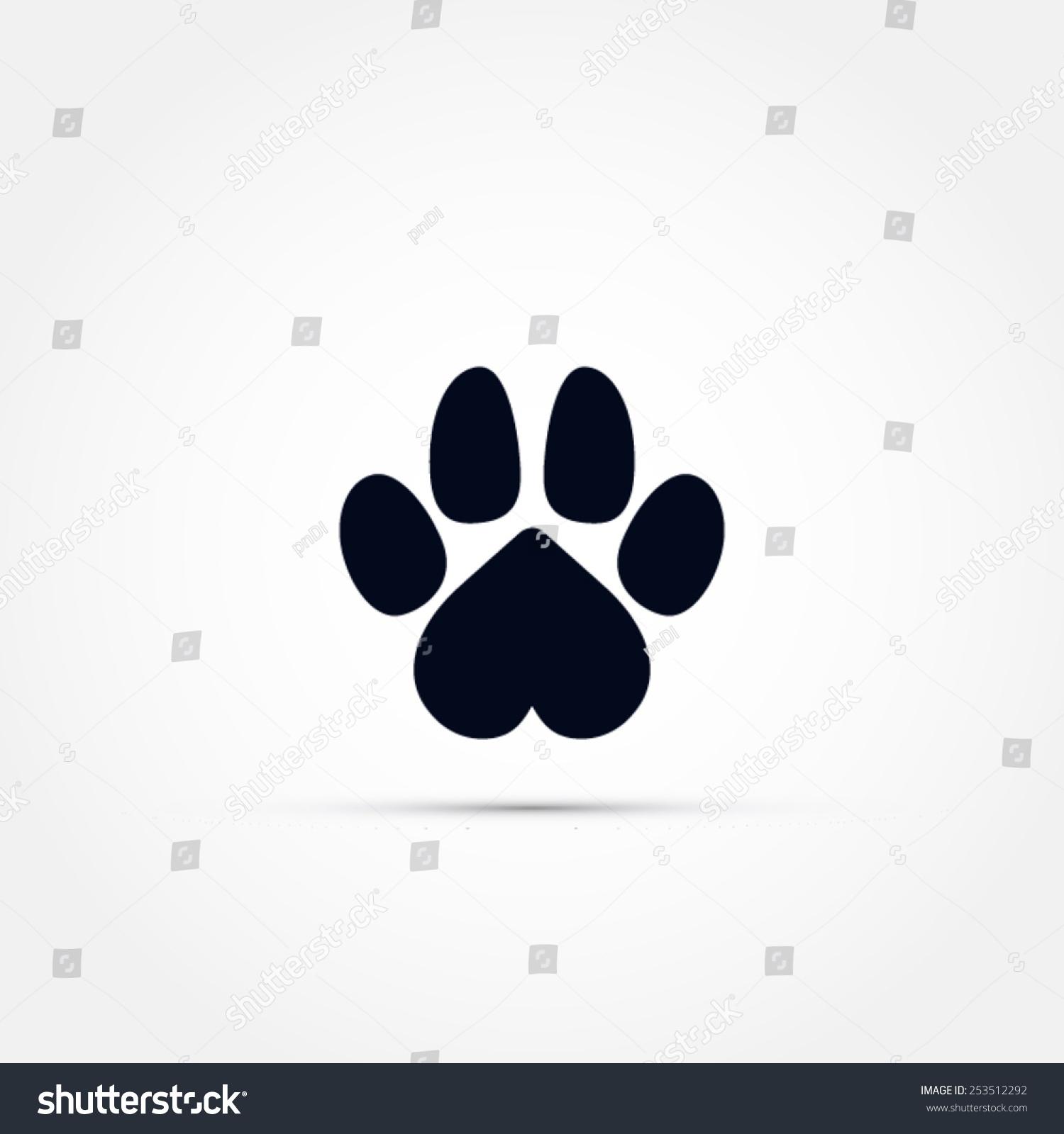 爪子图标-动物/野生生物,符号/标志-海洛创意(hellorf