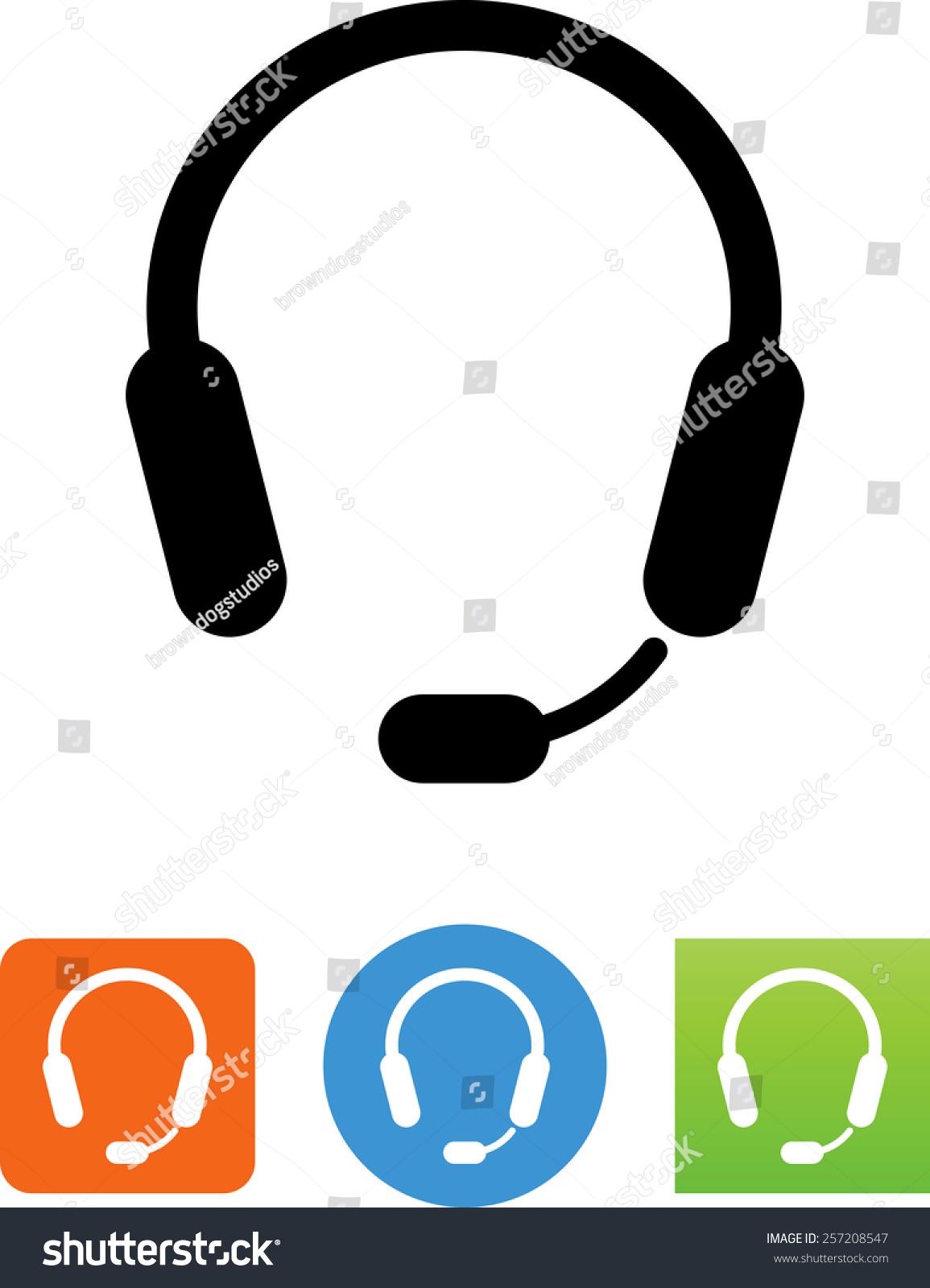 耳机标志下载.矢量图标为视频,移动应用程序,网站和印刷项目.