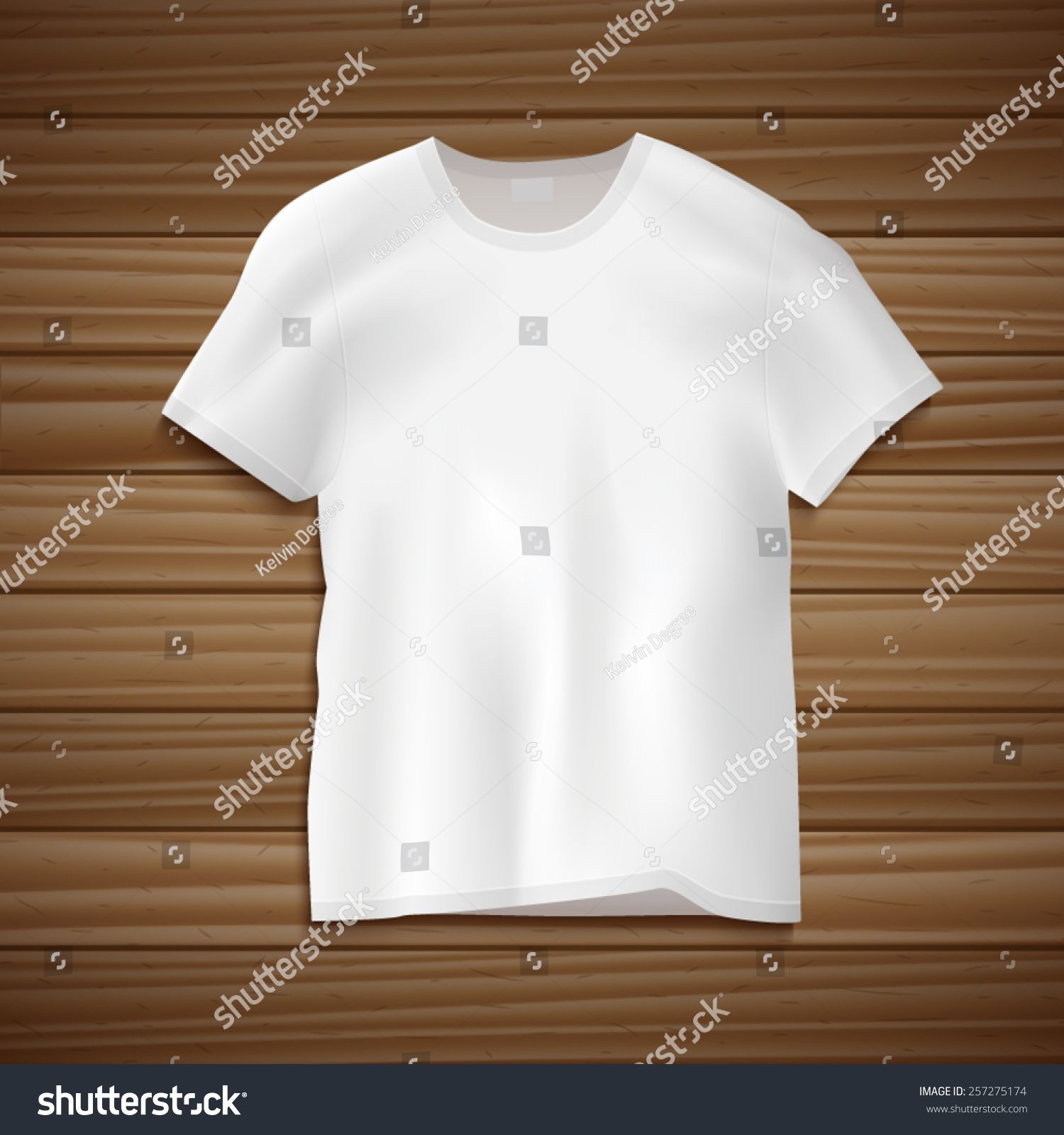 空白衣服简笔画