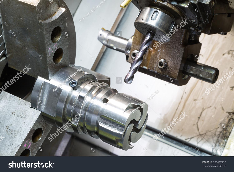 运营商零件v零件压铸部分高精度数控车床-机器cad图纸物体复制新建图片
