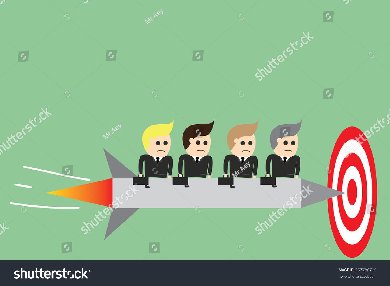 箭头上的目标-背景/素材,商业/金融-海洛创意(hellorf