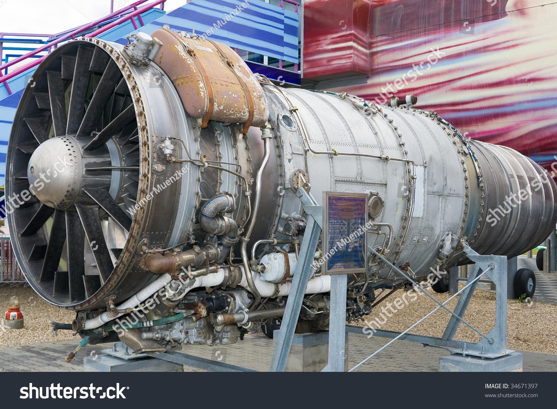 老飞机喷气发动机-科技,交通运输-海洛创意(hellorf)