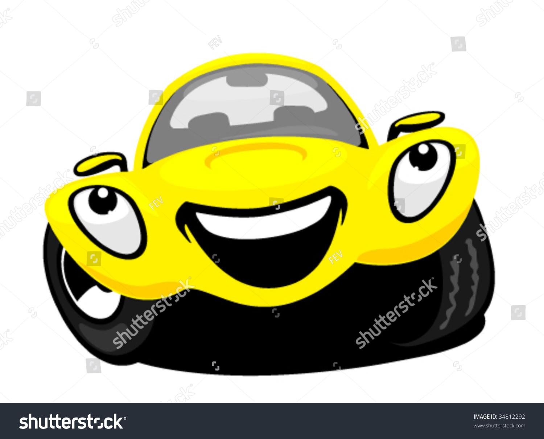 卡通车-交通运输,插图/剪贴图-海洛创意(hellorf)--.