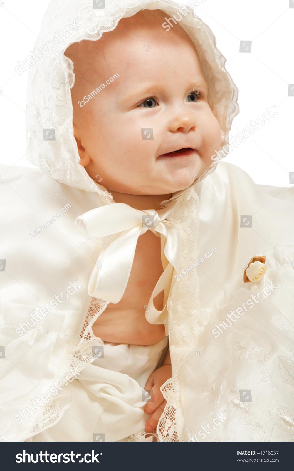 微笑的婴儿洗礼仪式礼服-人物,宗教-海洛创意(hellorf