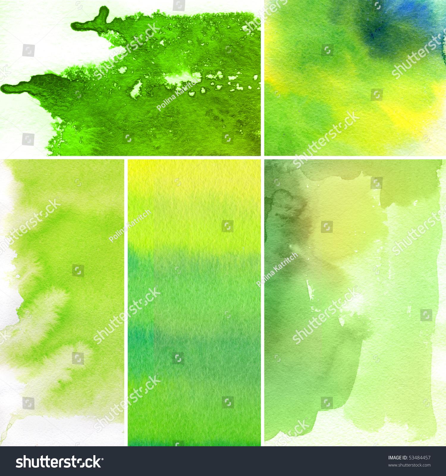 组水彩抽象的手绘背景