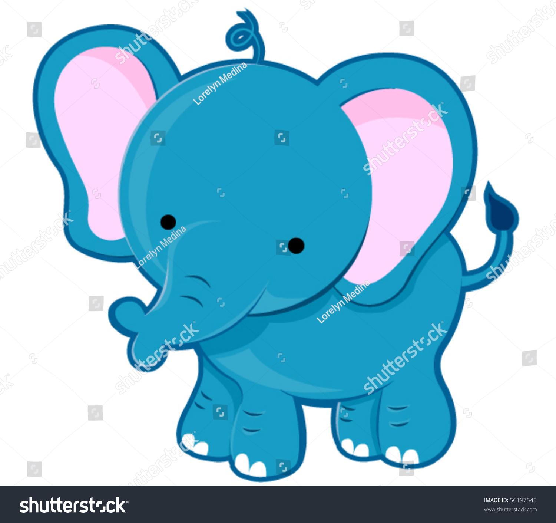 可爱的大象——向量