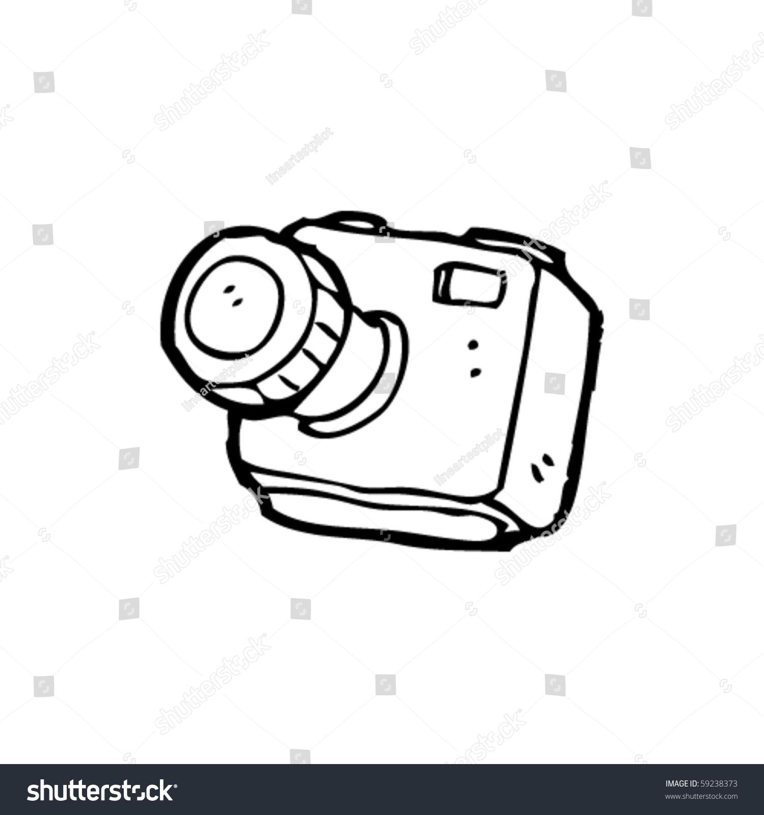 相机展示道具手绘