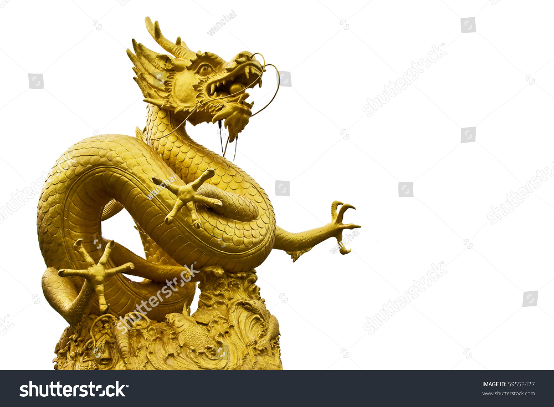 中国龙在普吉岛雕像