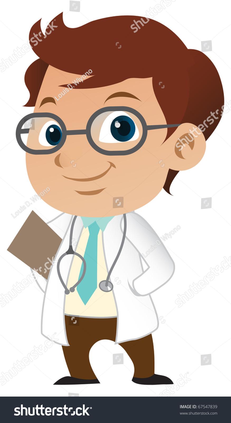 可爱的小男医生