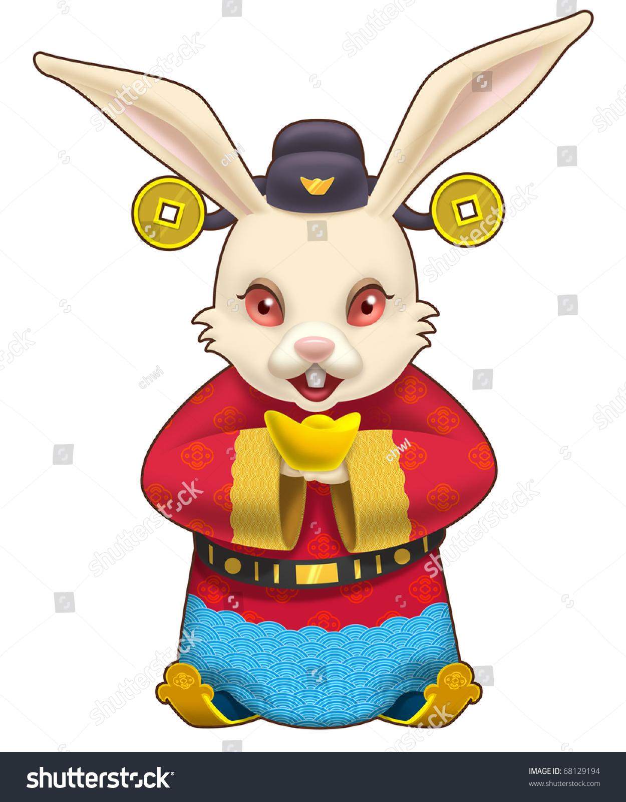 可爱兔子微信头像大全
