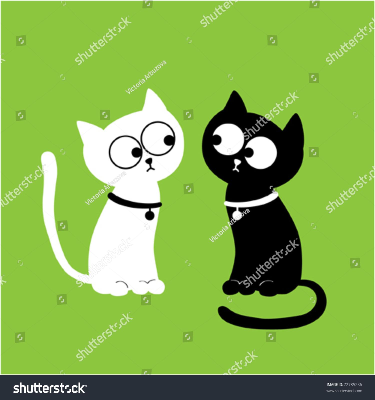 猫的双胞胎.矢量图-背景/素材,插图/剪贴图-海洛创意