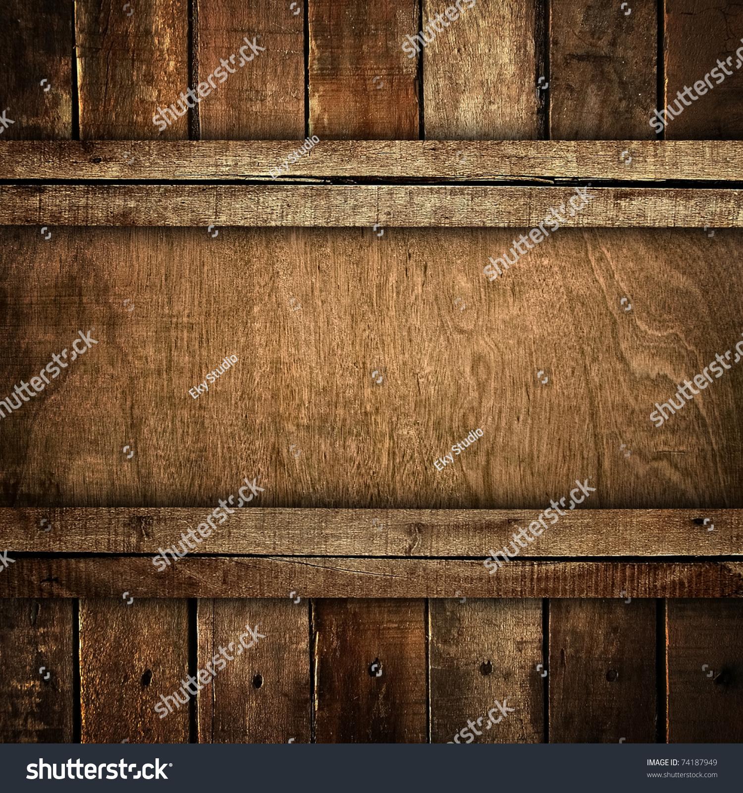 旧的木板-背景/素材,复古风格-海洛创意(hellorf)