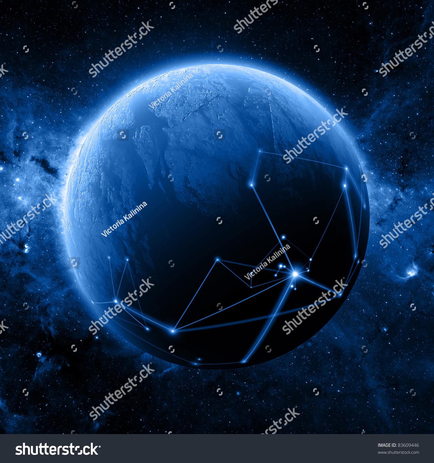美国国家航空航天局拍摄背景