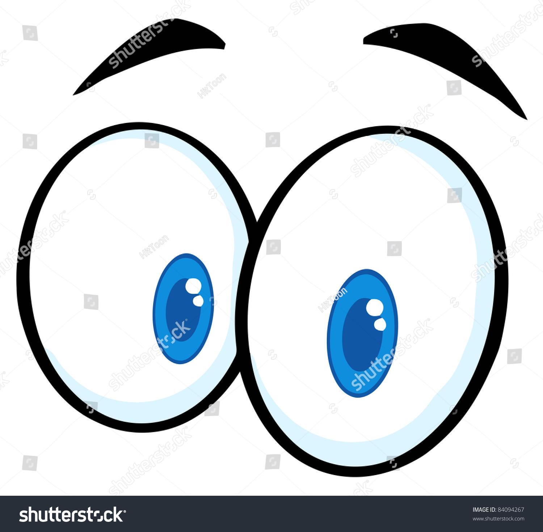 眼睛分布结构图