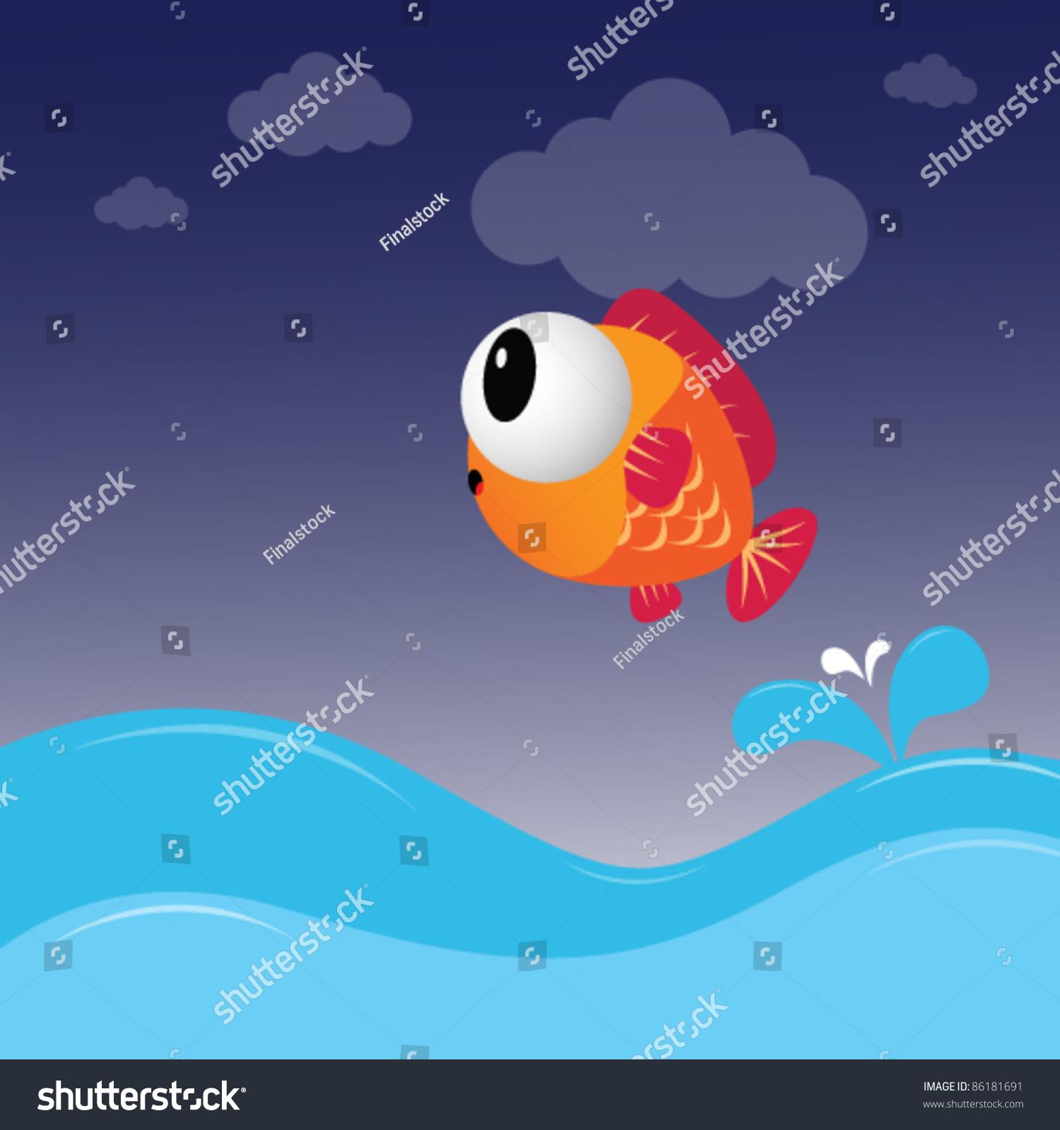 微信头像鱼黑白