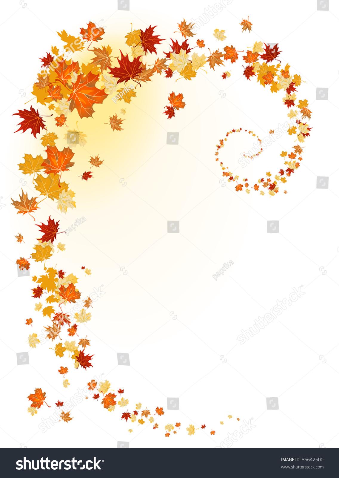 叶子的背景.光栅版