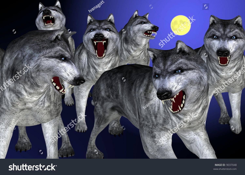 微信奋斗头像狼图片