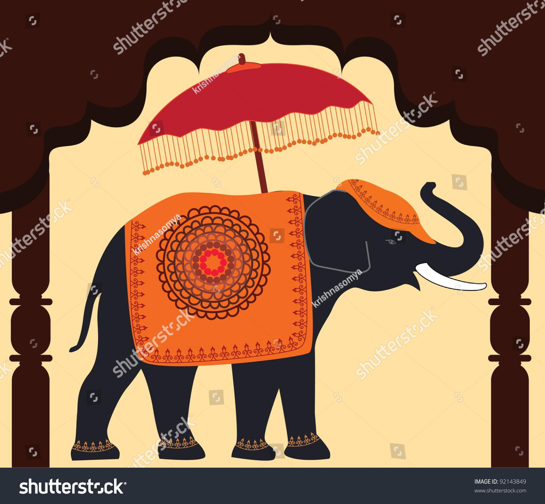 可爱新ppt背景 大象