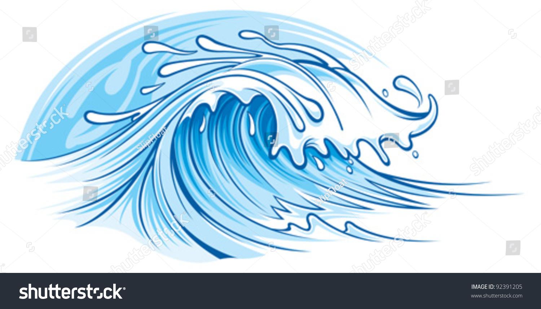 海浪-其它,自然-海洛创意(hellorf)-shutterstock中国