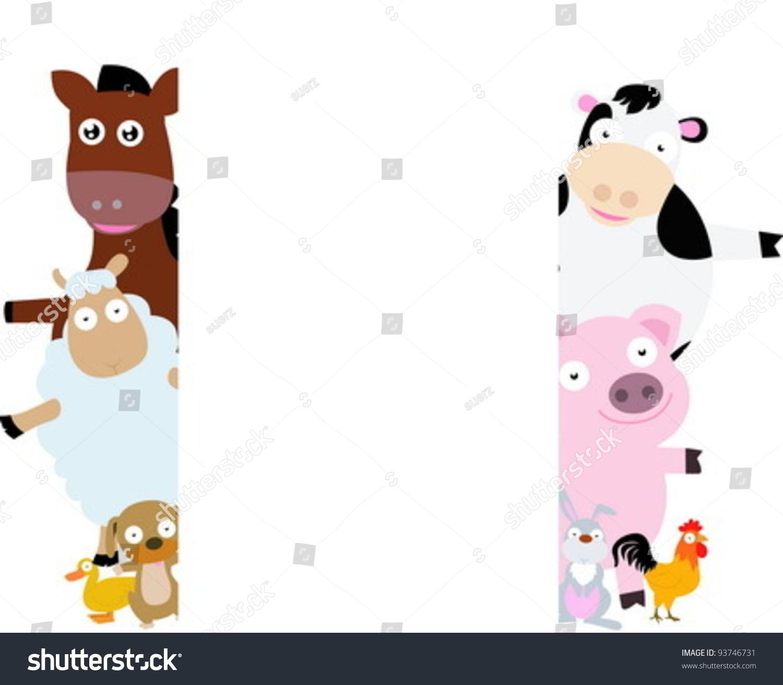 农场动物框架-动物/野生生物